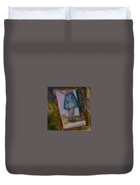 Shy Reflection Duvet Cover