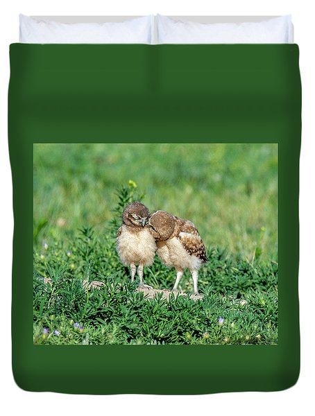 Sibling Love Duvet Cover