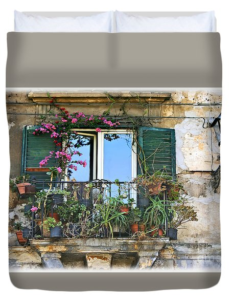 Sicilian Balcony Duvet Cover