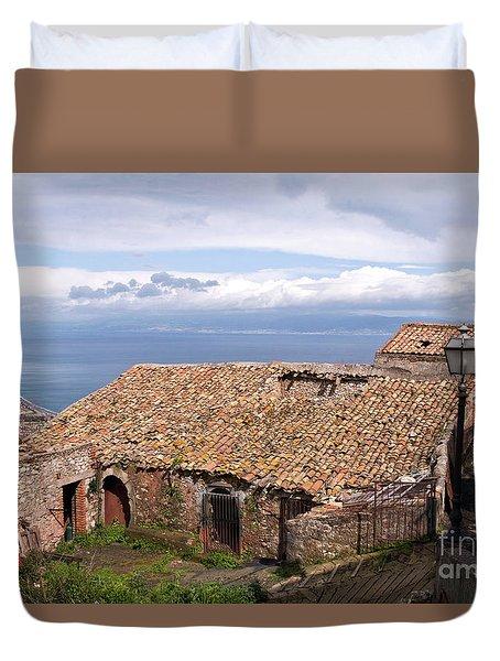 Sicilian Forgotten Sound Duvet Cover