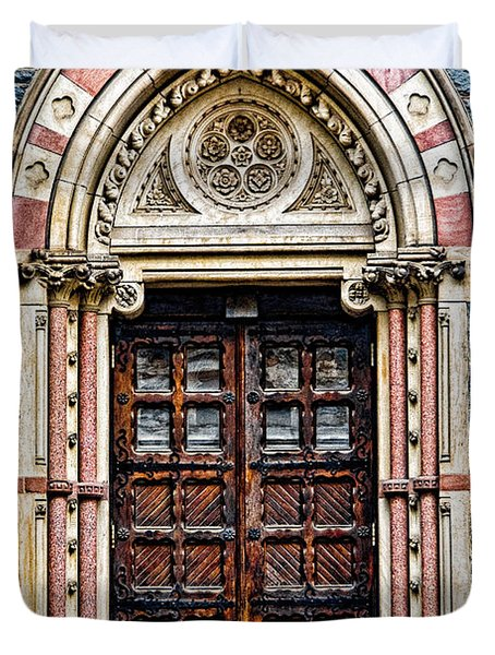 Side Entrance Duvet Cover by Christopher Holmes