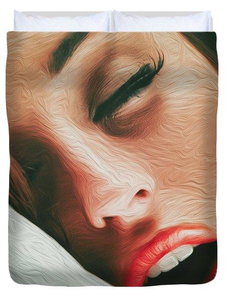 Side Kiss- Duvet Cover