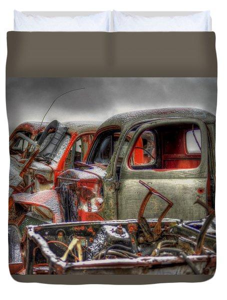 Sideways Duvet Cover