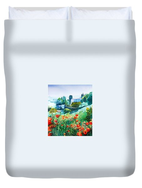 Siena View Duvet Cover