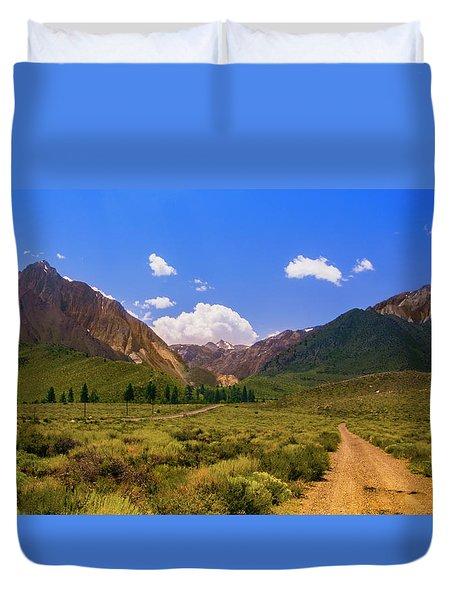 Sierra Mountains - Mammoth Lakes, California Duvet Cover