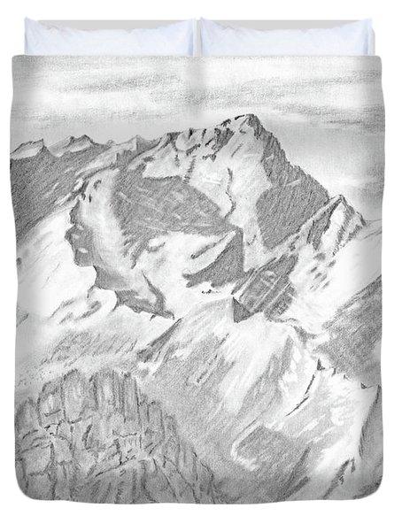 Sierra Mt's Duvet Cover