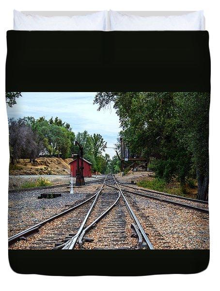 Sierra Railway Duvet Cover