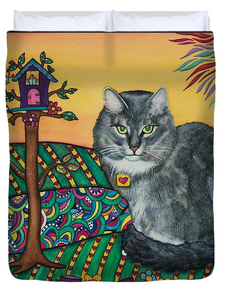 Sierra The Beloved Cat Duvet Cover
