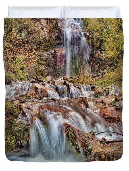 Sierra Waterfall Duvet Cover