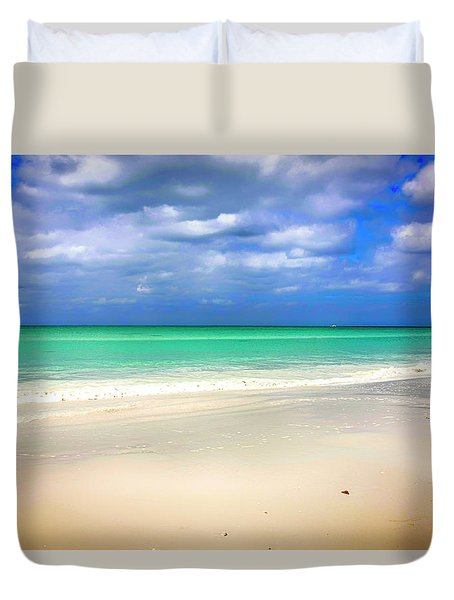 Siesta Key Beach Florida  Duvet Cover
