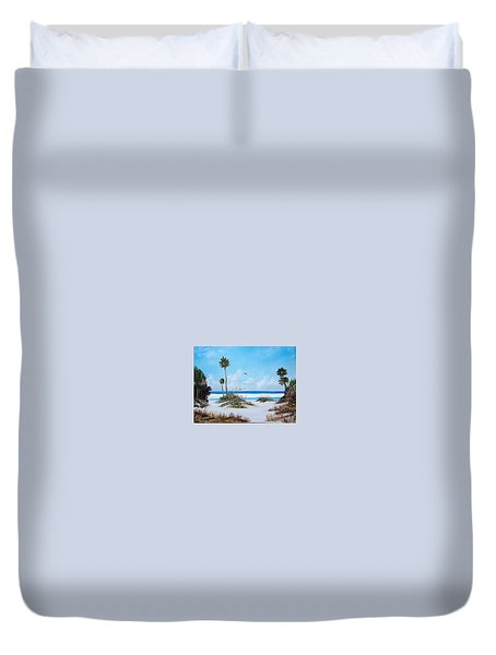 Siesta Key Fun Duvet Cover
