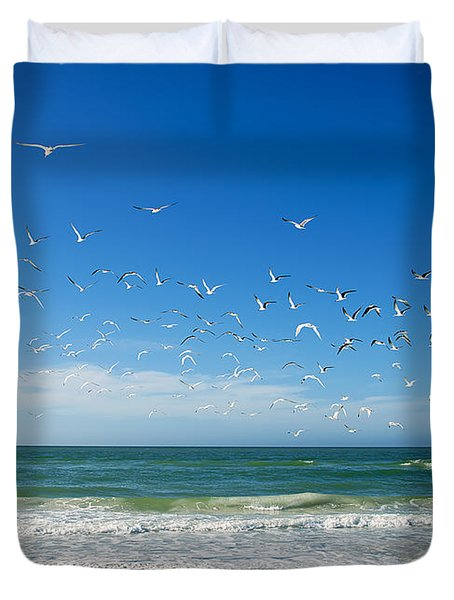 Siesta Key Duvet Cover