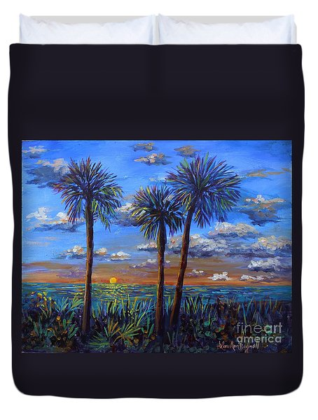 Siesta Summer Sunset Duvet Cover