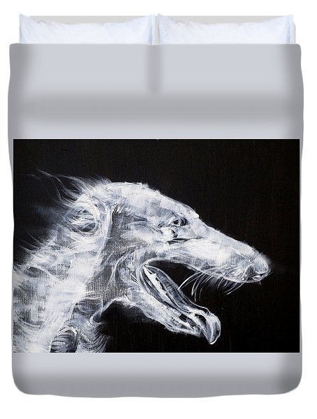 Sighthound Duvet Cover by Fabrizio Cassetta