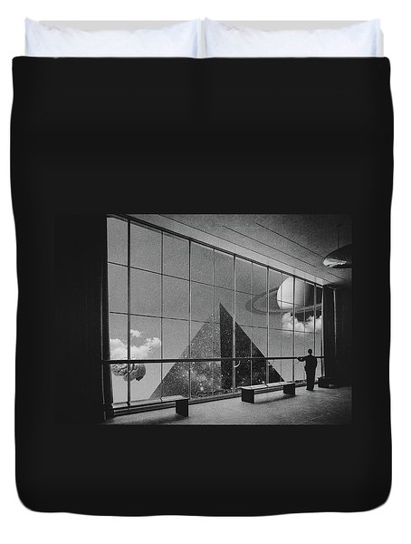 Sighting  Duvet Cover by Fran Rodriguez