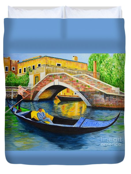 Sightseeing Duvet Cover