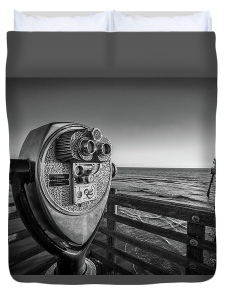 Sightseeing Duvet Cover by Peter Tellone