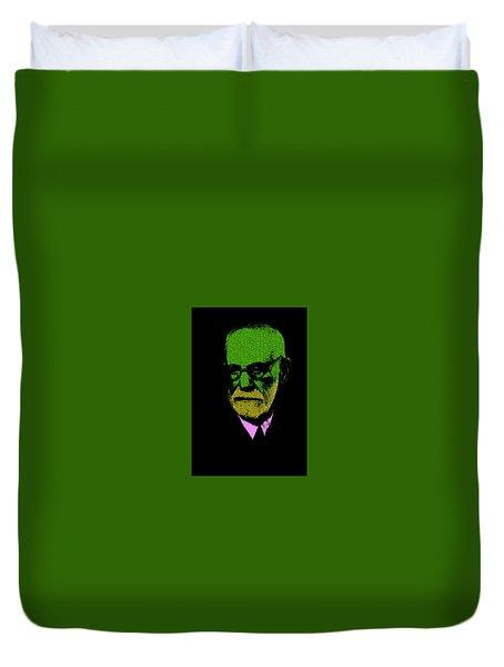Sigmund Freud Duvet Cover