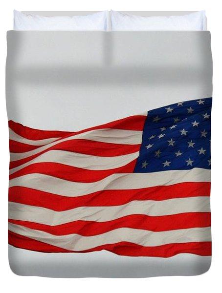 Sign Of Freedom Duvet Cover