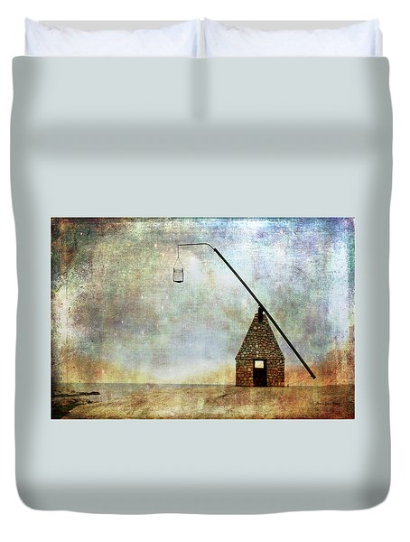 Sign Of Hope Duvet Cover