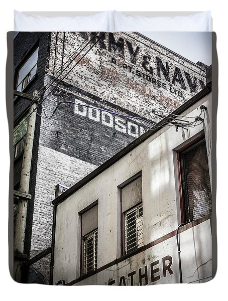 Signage Duvet Cover