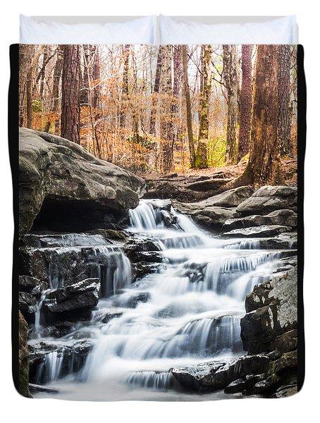 Autumn At Moss Rock Preserve Duvet Cover