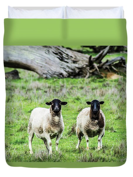 Silence Of The Umm Sheep 2  Duvet Cover
