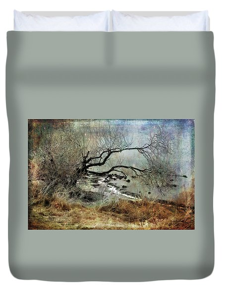 Silent Beach Duvet Cover