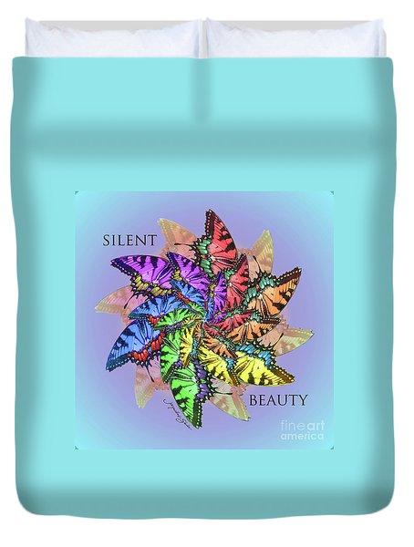 Silent Beauty Duvet Cover