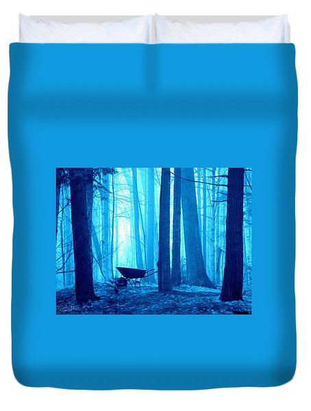 Silent Forest Duvet Cover