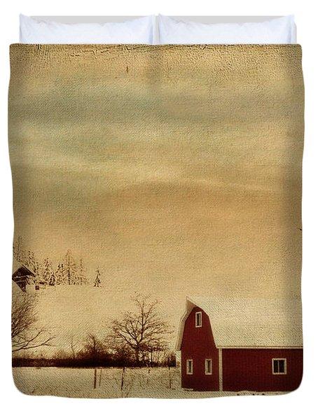 Silent Morning Duvet Cover