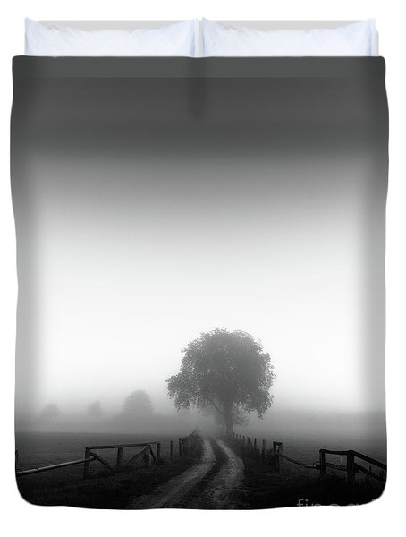 Silent Morning  Duvet Cover