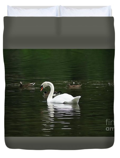Silent Musical Duvet Cover