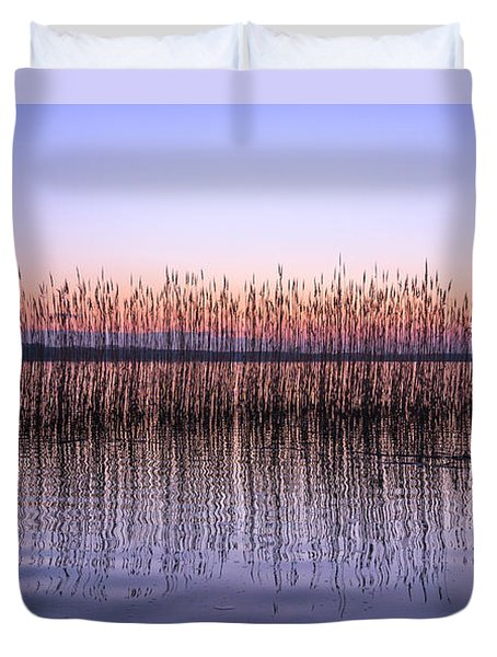 Duvet Cover featuring the photograph Silent Noise by Dmytro Korol