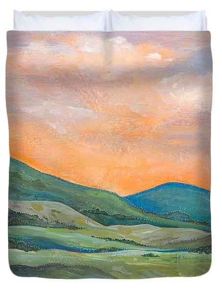 Silent Reverie Duvet Cover by Tanielle Childers