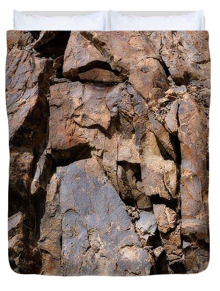 Silent Rocks Duvet Cover by Konstantin Dikovsky