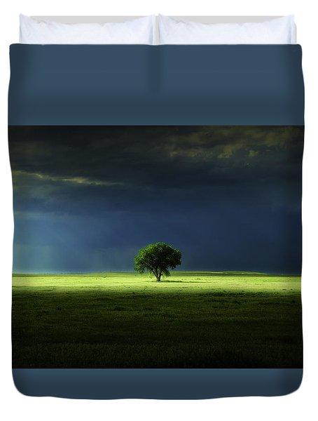 Silent Solitude Duvet Cover