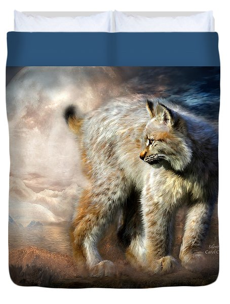 Silent Spirit Duvet Cover by Carol Cavalaris
