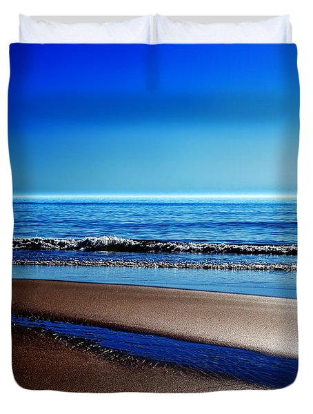 Silent Sylt Duvet Cover by Hannes Cmarits