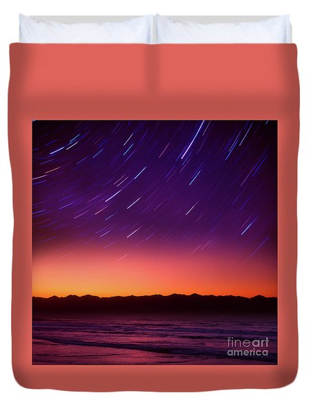 Silent Time Duvet Cover