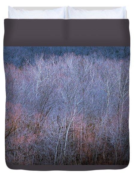 Silent Trees Duvet Cover