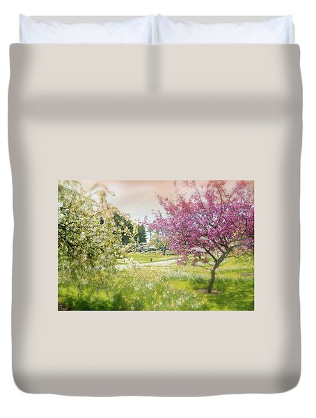 Duvet Cover featuring the photograph Silent Wish You Make by Diana Angstadt