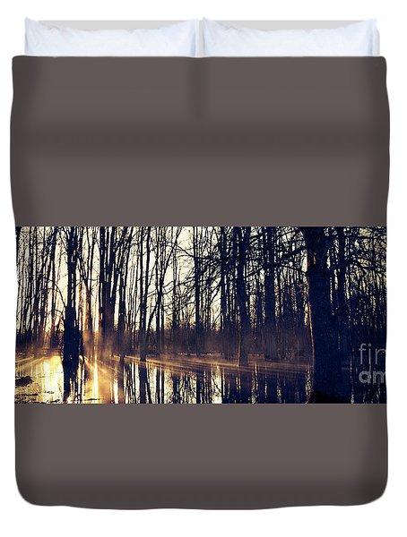 Silent Woods #4 Duvet Cover