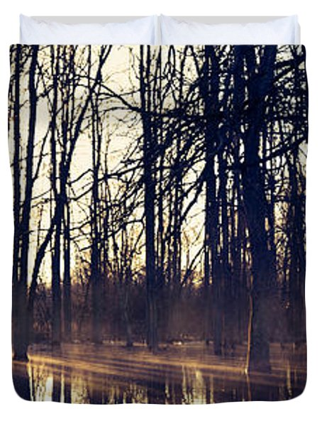 Silent Woods No 4 Duvet Cover