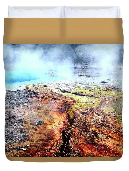 Silex Hot Springs Duvet Cover