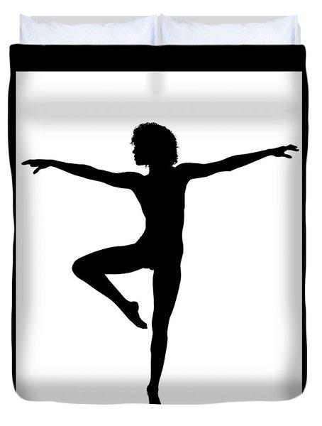 Silhouette 24 Duvet Cover