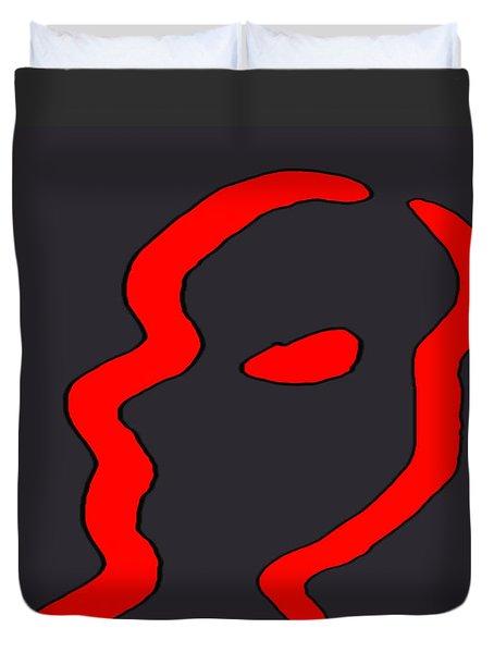 Silhouette Duvet Cover