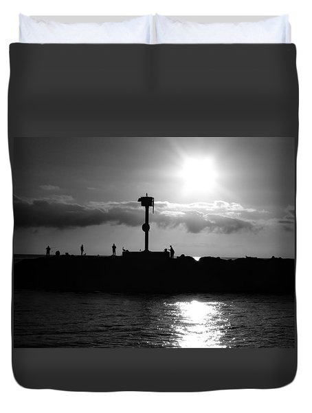 Silhouettes Duvet Cover