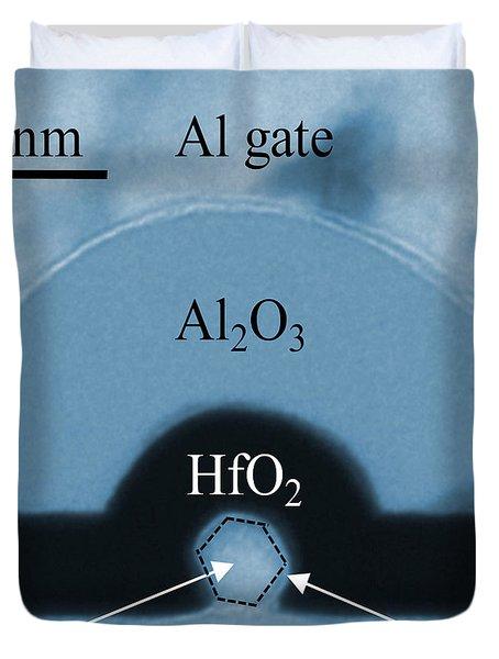 Silicon Nanowire, Tem Duvet Cover