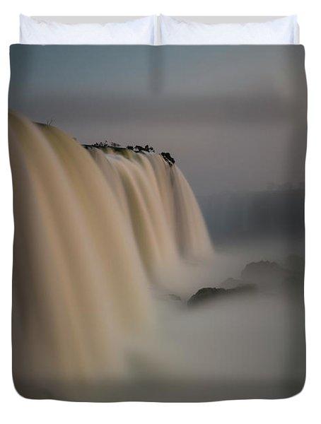Silk Torrent Duvet Cover